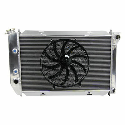 "3ROW Alloy Radiator + 16""Fan FITS Ford Montego/Monterey/ Country Sedan or Squire"