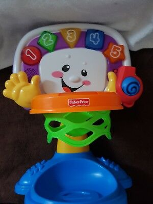 fisher price laugh and learn basketball hoop