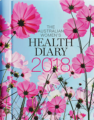 Women's Health Diary 2018 Daily Journal A5 Week to View, FREE POSTAGE🇦🇺 🇦🇺