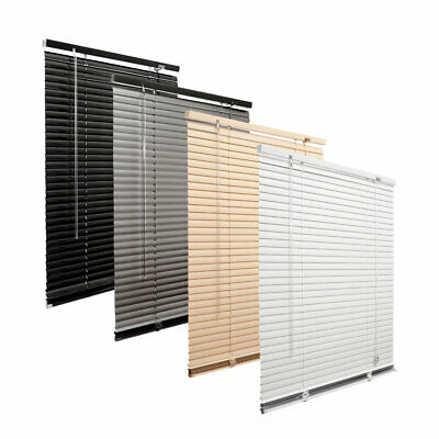 PVC Venetian Blind Blinds Aluminium Many Sizes/Colours Effect Window 25mm Slats