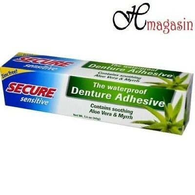 Secure Sensitive Denture Bonding Cream 40g