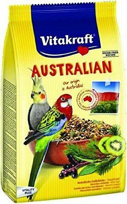 Vitakraft Australian Parrot Food 750g -Cockatiel Lovebird Bird Food Seed Mixture