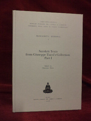 SANSKRIT TEXTS from Giuseppe Tucci 's Collection - Part I - IsIAO 2008
