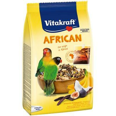 Vitakraft African Small Parrot Food 750g - Lovebird Bird Breed Food Seed Mixture