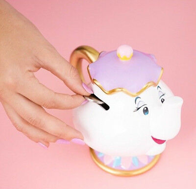 Official Disney Beauty and the Beast Mrs Potts Money Box Moneybox Chip