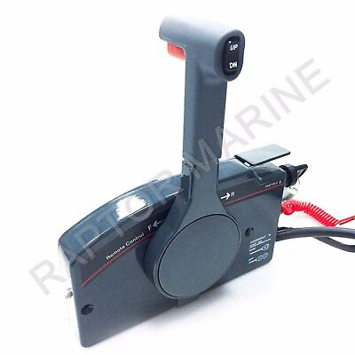 10 pins remote control box for YAMAHA outboard PN 703-48205-16,push to open