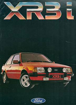 Brochure  FORD  ESCORT  XR3i  1600 OHC