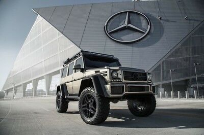 2017 Mercedes-Benz G-Class G550 Brabus 4x4 Squared BRABUS EDITION 4x4 SPECIAL ORDER SINTERED BRONZE MAGNO