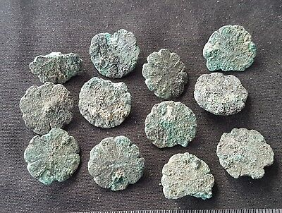Fantastic hoard of Roman bronze stud/mounts found at Aldborough in Britain L42f