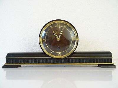 HERMLE German Vintage Antique Mantel Clock (Junghans Kienzle Warmink era)
