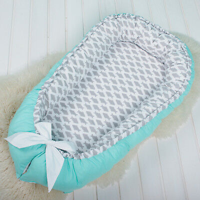 Reversible Baby Nest, babynest, co sleeper, nest bed, toddler baby nest naps