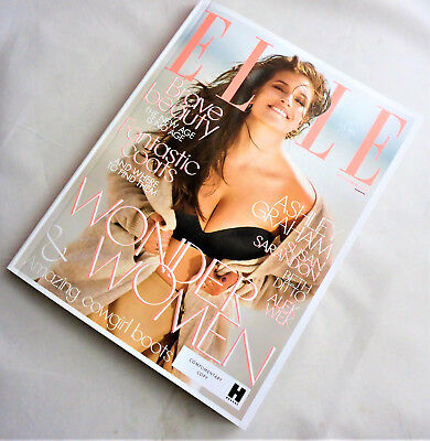 ELLE UK November 2017 Handbag Size Nov 17 Ashley Graham Cover Issue Magazine New