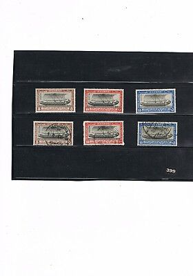 Egypt Stamps #399 International Navigation Congress 1926 M.mint And Used