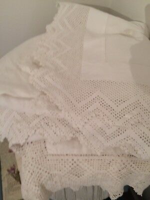 Lot Of Victorian Linen Tablecloths