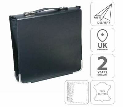 Falcon 55mm Zippered Artist Portfolio Folder Black - FI3505