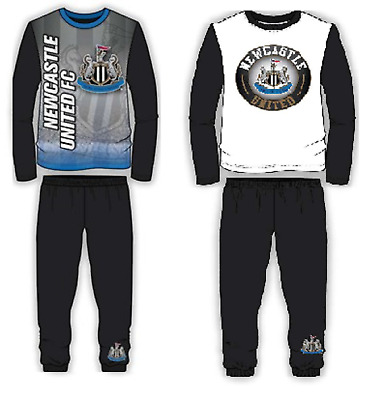 Boys Newcastle Utd Fc Football Pyjamas Set,Size 4 To 12 Years