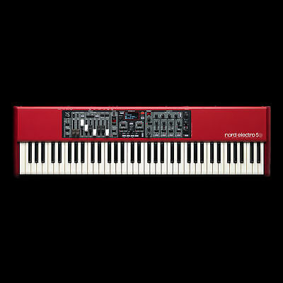 Nord Electro 5D 73 73-Note Keyboard Semi-Weighted Keys 9 Drawbars