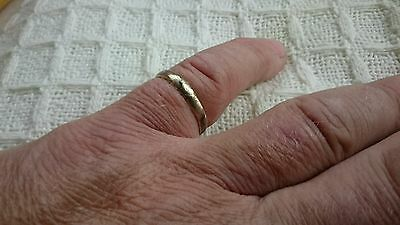 Roman Bronze man's adjustable Ring Beautiful wearable ancient Uk Find Yorkshire