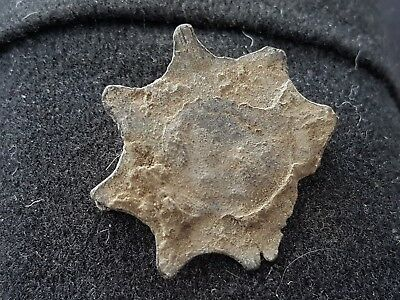 Roman Star type brooch lovely rare Ancient artifact from Yorks. Britain L42m