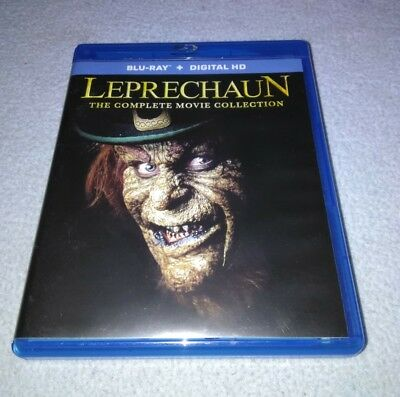 Leprechaun The Complete Collection (Blu-ray, 7 movies Warwick Davis