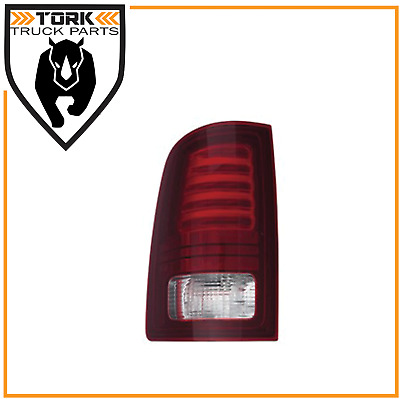 2013 -2017 Dodge Ram Replacement LED Tail Lamp Assembly Driver Side, Tinted