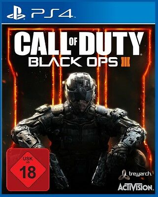 Call Of Duty  Black Ops III (Sony PlayStation 4, 2015, DVD-Box) PS4 USK18