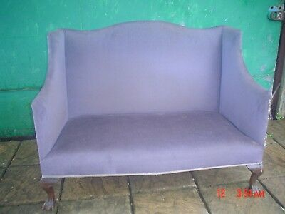 Edwardian Settee Selling For Restoration