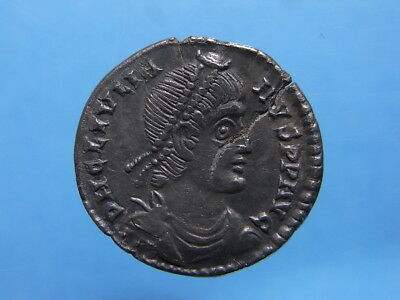 Imperial Roman AR Siliqua Of Julian II. 360-363 AD. R:Oak Wreath. Lyons. (C1204)
