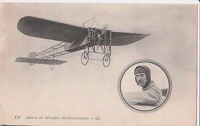 Cpa: Aviation/ Aubrun Sur Monoplan Bleriot