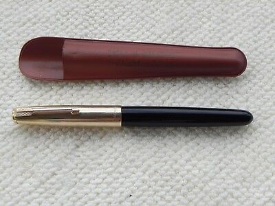 PENNA PARKER 51 MADE IN USA 1/10 12kt R.GOLD NUMERATA FOUNTAIN PEN PARKER 51