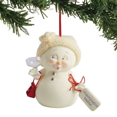 Department 56 Snowpinions Champagne Taste Hanging Ornament