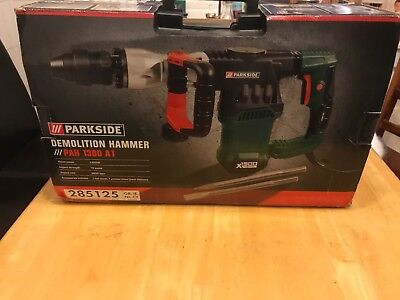 Parkside Demolition Hammer PAH 1300 A1 15 joules powerful heavy duty NEW