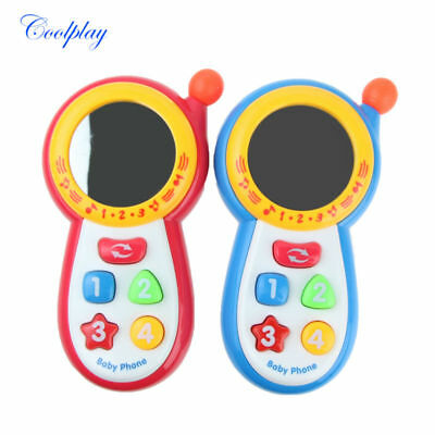 Coolplay Baby Kids Learning Study Musical Sound Cell Phone Educational