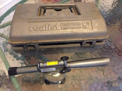 David White Instruments Realist Sight Level 8810 with Case