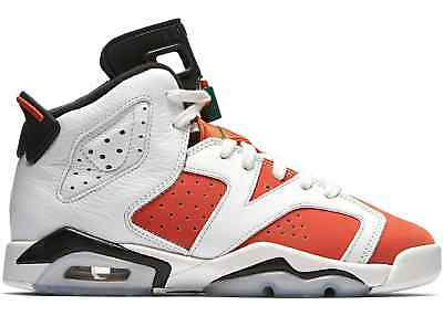 Air Jordan 6 Retro BG # 384665 145 Gatorade Big Kids SZ 3.5 - 7