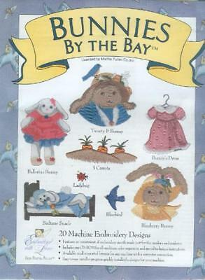 Martha Pullen Embroidery Cd - Bunnies By The Bay
