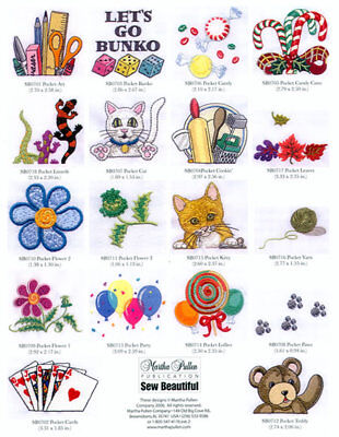Martha Pullen Embroidery Cd - Pick A Pocket