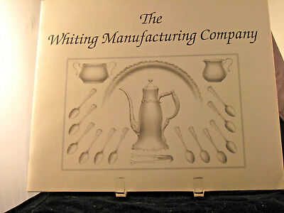 2 Historical Catalog Sterling Silver Whiting Manufacturing Co. & Strasbourg