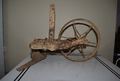 Antique Rustic Garden Plow Cultivator Old Farm Tool