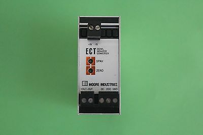 Moore Industries ECT/0-10V/4-20MA/24DC Signal Isolator Converter