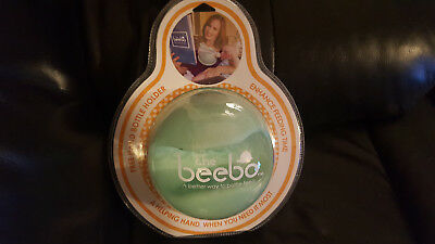 NEW The Beebo - Free Hand Baby Bottle Holder (Teal) In Original Packaging!!!