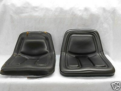 Black Seat For Power King & Economy Tractor 1614,1617,2414,2416,2417,2418 #Ij