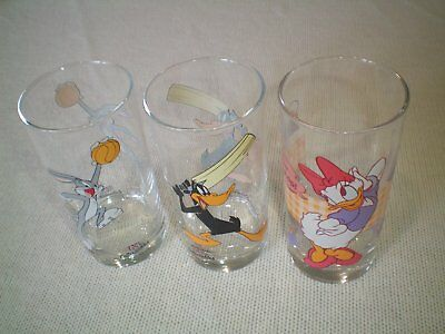 Disney Collectables IXL Glasses X 3 Characters.