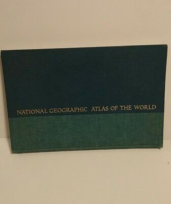 National geographic 1775 Atlas Of The World - Good Condition