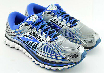 021c3d8a56a MENS BROOKS GLYCERIN 13 G13 Running Shoes Size 11.5 Us Blue Silver White  Gray -  34.95