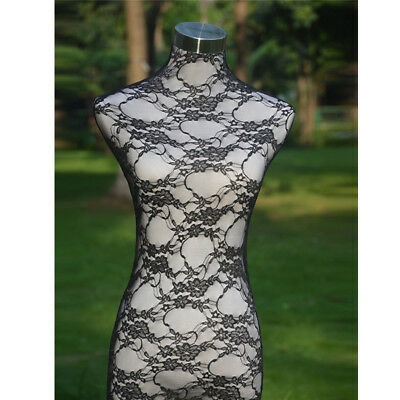 Black Handmade Lace Top Material Cover Female Mannequin Dress Model Dummy H001