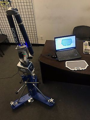 Faro 3d blue ray scanner and probe with everthing you need