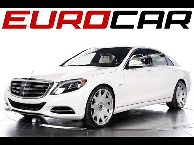 2015 Mercedes-Benz S-Class S600 2015 Mercedes-Benz S600 - Only 7,300 Miles/ 1 Owner! Rear Seat Entertainment