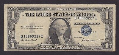 USA - 1935F - $1 Dollar Bill - Silver Certificate
