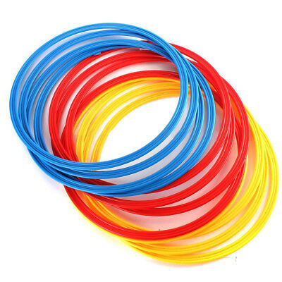 12PCS Multi Color Innovations Speed and Agility Training Rings Soccer T SK